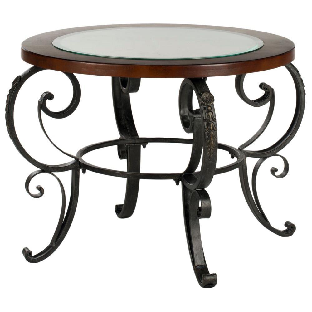Safavieh Linda Dark Brown Side Table