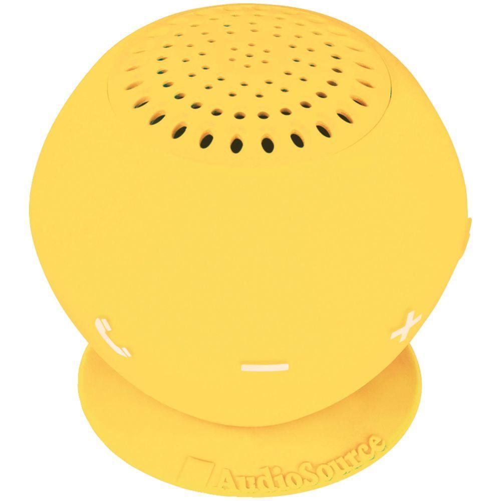 Water-Resistant Bluetooth Speaker (Yellow)
