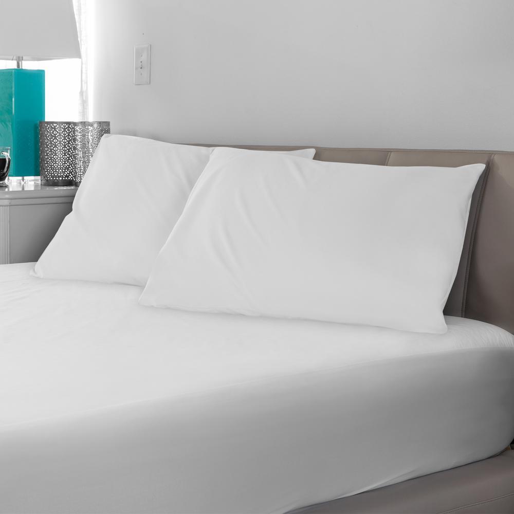 Microshield Jumbo-Size Pillow Protector (2-Pack)