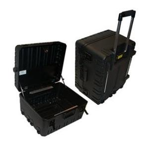 16 in. x 9 in. Military Ready Black Tool Case with 2 Pallets in Black