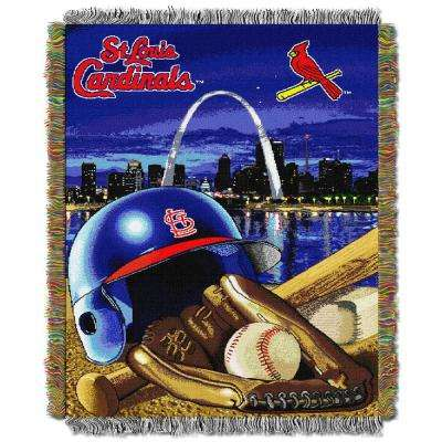 Cardinals Multi Color Home Field Advantage Tapestry Throw