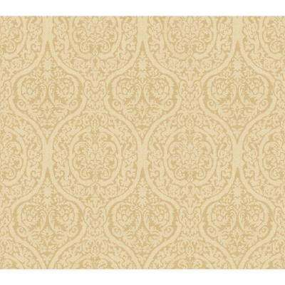 Beige - Geometric - Pre-pasted - Wallpaper - Decor - The Home Depot