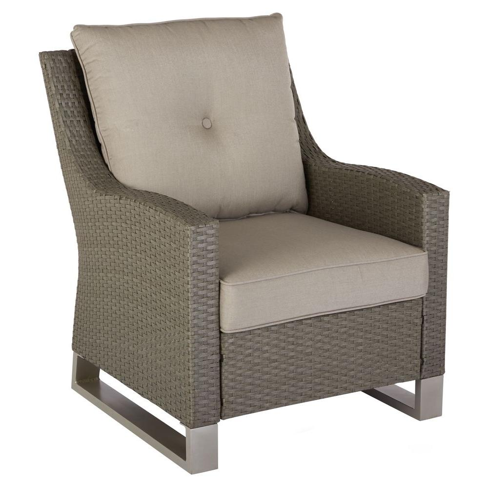 Marvelous Hampton Bay Broadview Patio Club Chair In Sunbrella Spectrum Dove  (2 Pack) FRS60490 A   The Home Depot