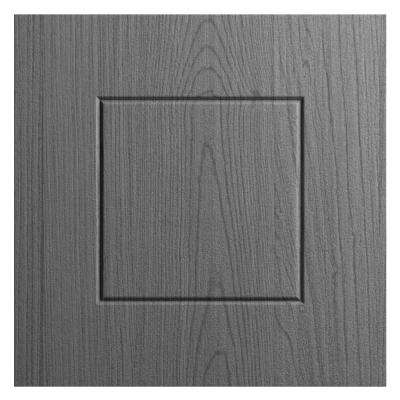 12x12 in. Cabinet Door Sample in Palm Beach Rustic Gray