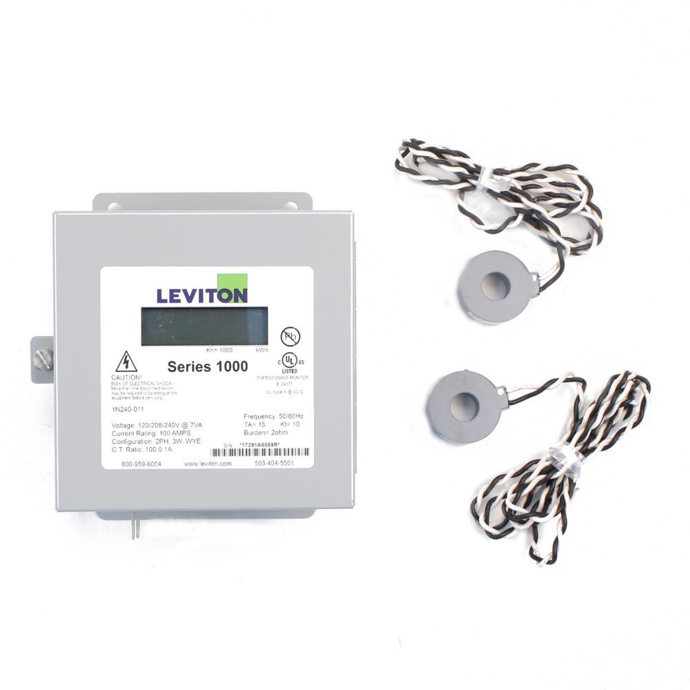wiring 240v bas leviton series 1000 single phase indoor meter kit  120 240 volt  single phase indoor meter kit