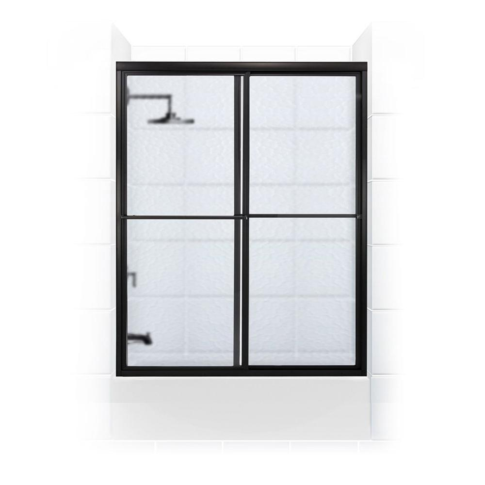 Newport Series 58 in. x 58 in. Framed Sliding Tub Door