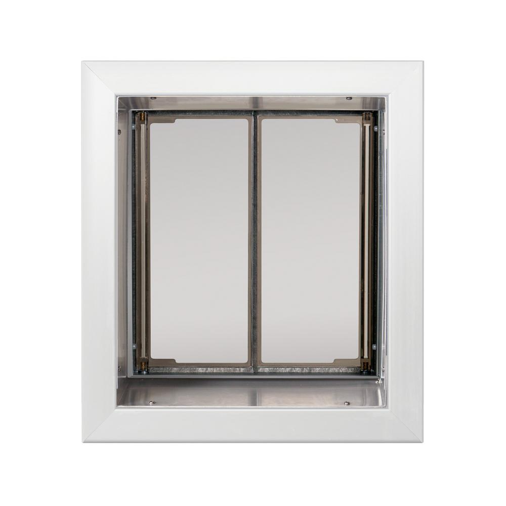 Plexidor Performance Pet Doors 9 In X 12 In Wall Mount White