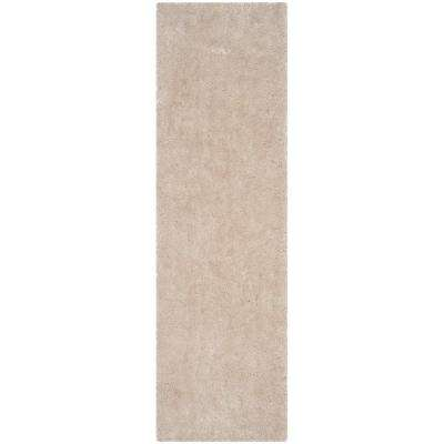 Luxe Shag Bone 2 ft. 3 in. x 10 ft. Runner