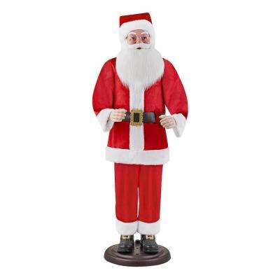 72 in. Animated Dancing and Singing Santa