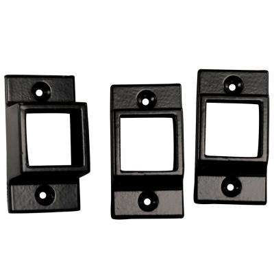 5/8 in. Metal Wall Mount Fence Brackets (3-Pack)