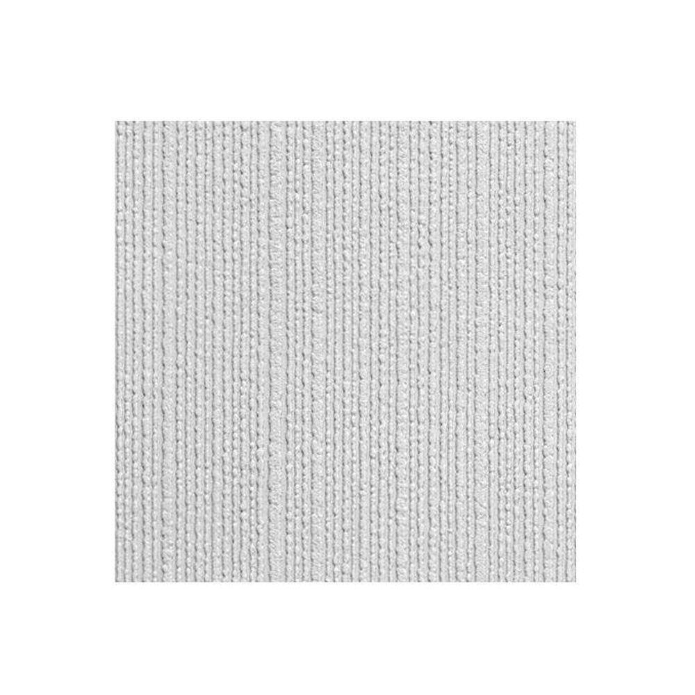 Anaglypta Style Hessian Weave Paintable Textured White Blown Vinyl Wallpaper