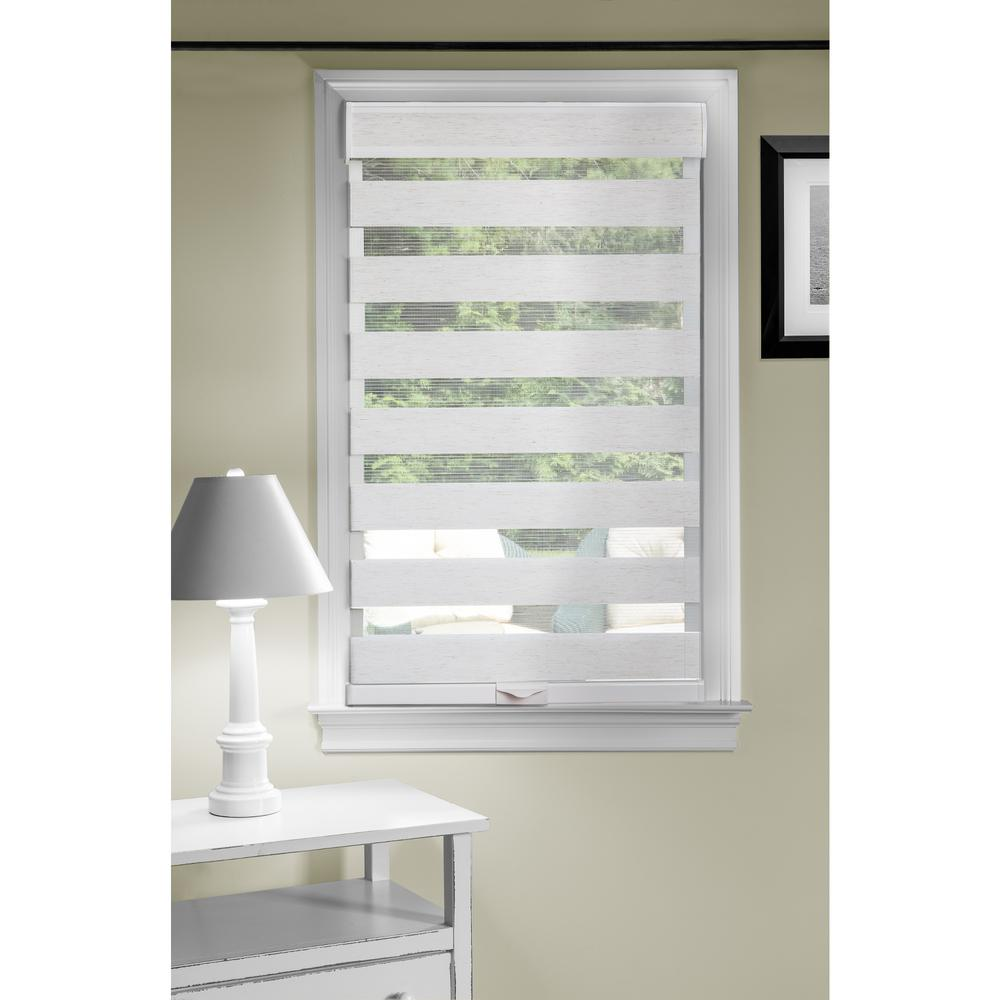 window shades for home residential achim 23 in 72 celestial light filtering linen cordless double