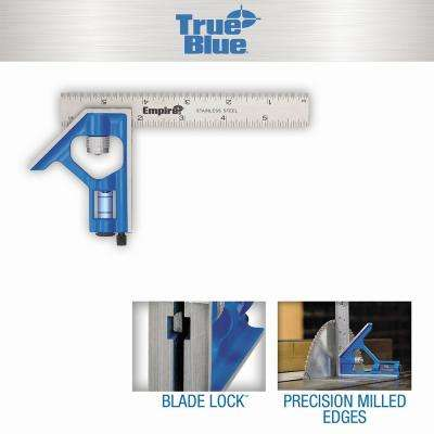6 in. True Blue Blade Pocket Combination Square