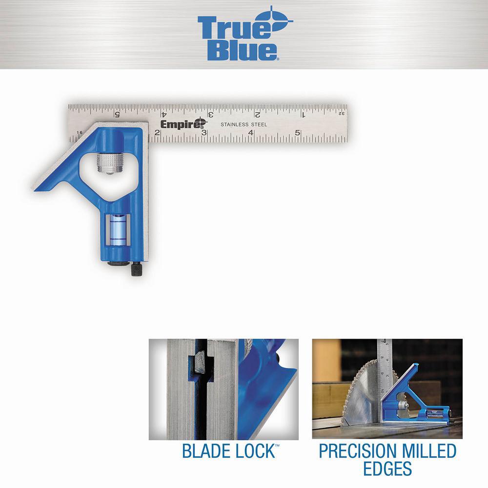 6 in. True Blue Blade Pocket Combination Square