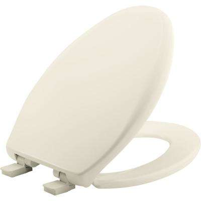 Affinity Elongated Closed Front Toilet Seat in Biscuit