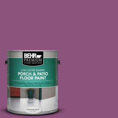 1 gal. #PPU1-18 Peru Low-Lustre Porch and Patio Floor Paint