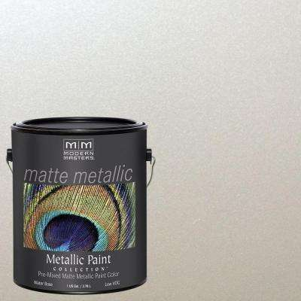 1 gal. Oyster Metallic Interior Paint