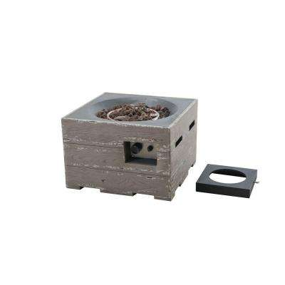 Kent 23.6 in. Gray Fire Pit