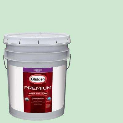 5 gal. #HDGG55D New Mint Green Eggshell Interior Paint with Primer