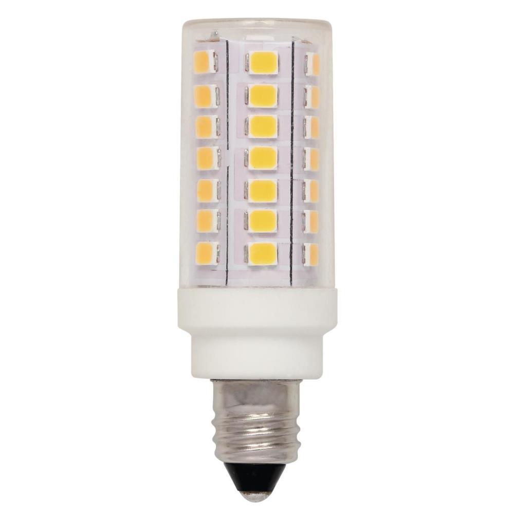 50-Watt Equivalent E11 Dimmable LED Light Bulb Bright White