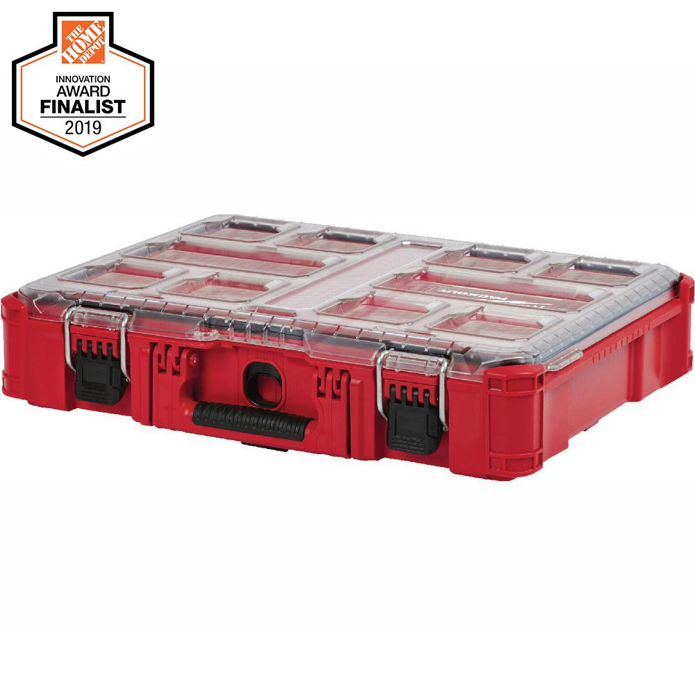 Milwaukee PACKOUT 11-Compartment Small Parts Organizer