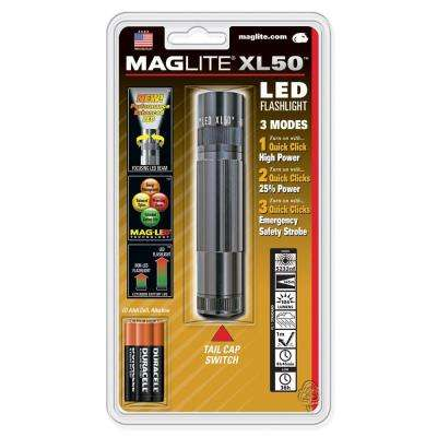 LED XL50 3 Cell AAA in Gray