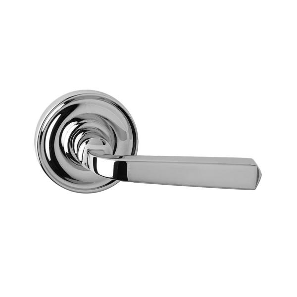Solid Zinc Satin Nickel Passage Hall/Closet Door Lever