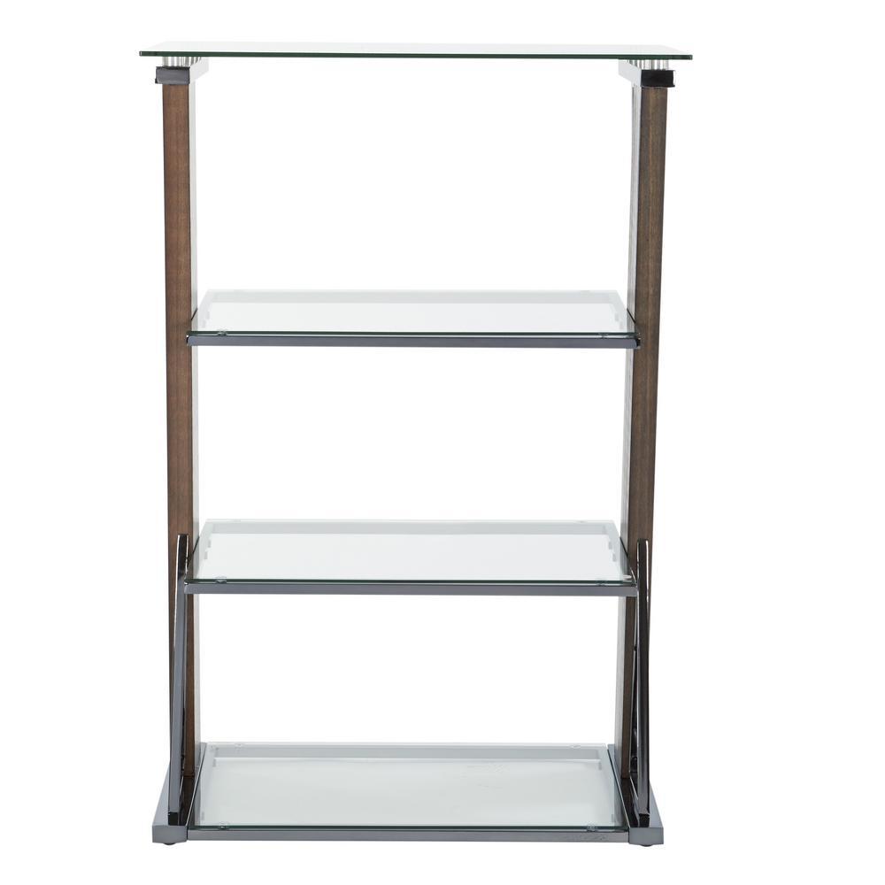 Eureka Carmel  4-Shelf Bookcase