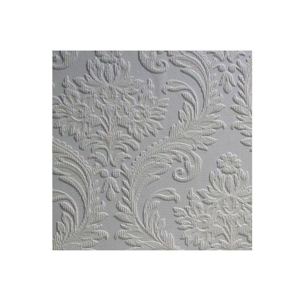 Anaglypta High Trad Paintable Textured Vinyl Wallpaper Sample