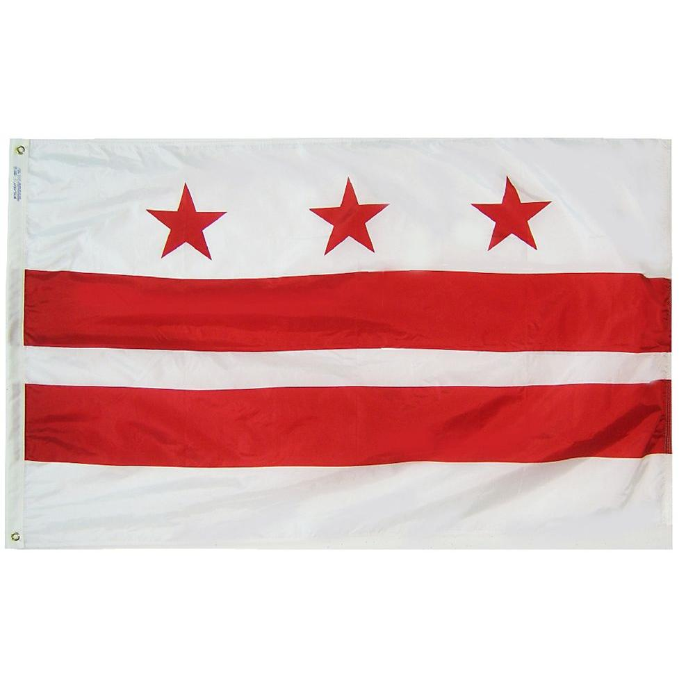 4 ft. x 6 ft. District of Columbia Flag