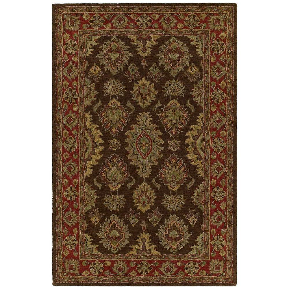 Kaleen Khazana Negril Coffee 8 ft. x 11 ft. Area Rug