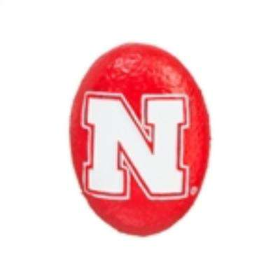University of Nebraska 3 in. x 2 in. Decorative Garden Rock