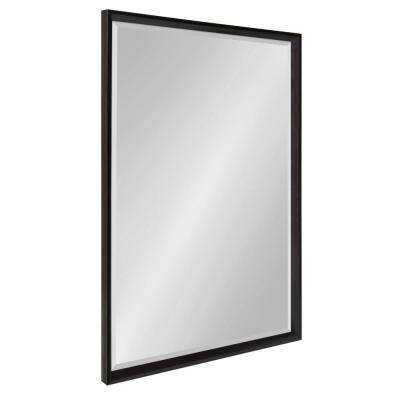 Calter Rectangle Black Wall Mirror