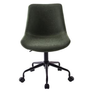 Deals on Boyel Living Green PU Leather Swivel Office Desk Chair