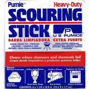 12//bx Toilet Bowl Scouring Cleaning Sticks Commercial-Strength Pumice Sticks