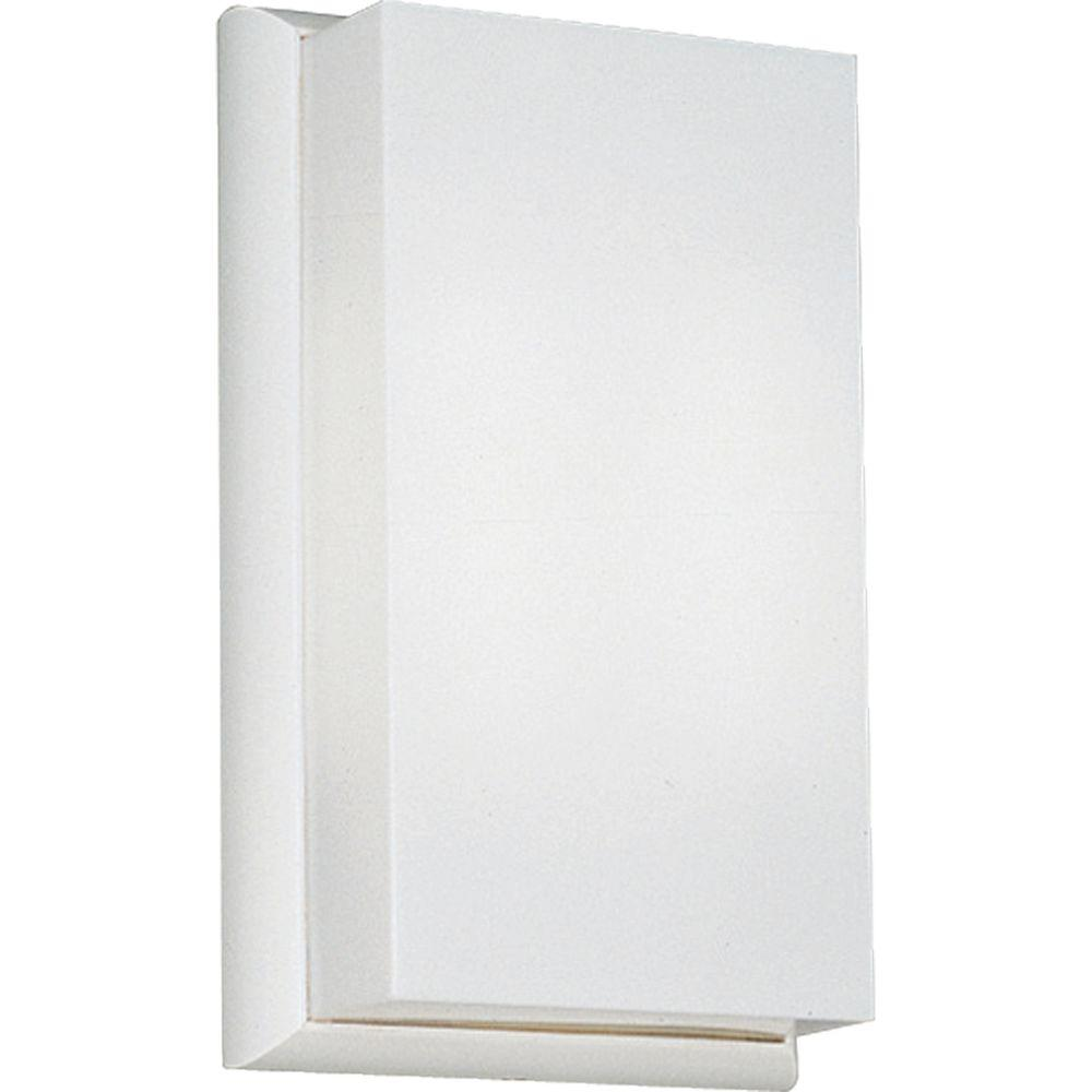 Progress Lighting White 2-light Wall Sconce-DISCONTINUED
