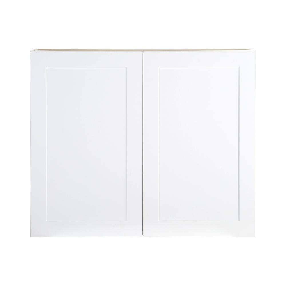 Plywood Wall Cabinet Plan: Hampton Bay Cambridge Assembled 36x30x12.5 In. All Plywood