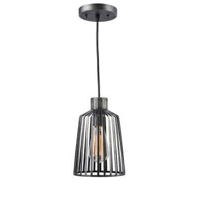 Coop 1-Light Aged Metal Pendant