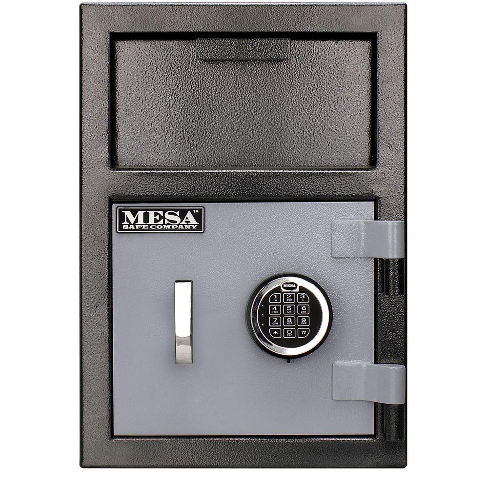 0.8 cu. ft. All Steel Depository Safe with Electronic Lock in