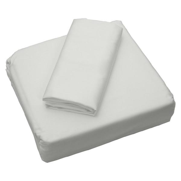 Sealy Coolmax White 300 Thread Count Queen Sheet Set