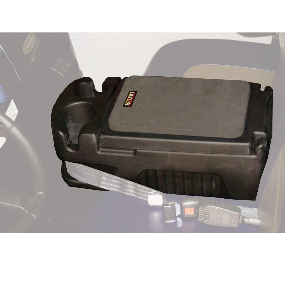 Bench Center Console Laptop Case Storage