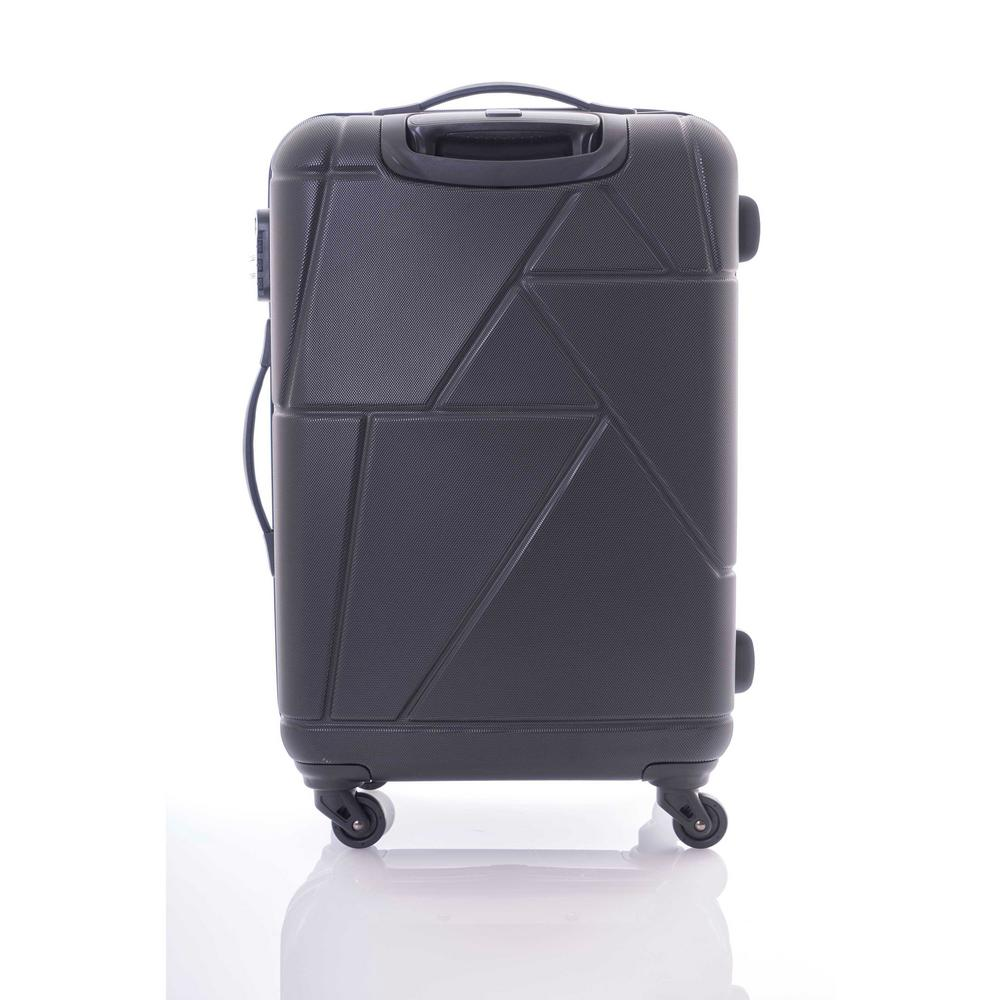 cc5f262eb Kamiliant Verona Black 3-Piece Spinner Luggage Set 105008-1041 - The Home  Depot