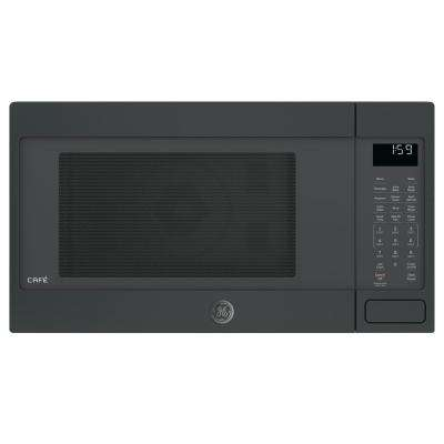 1.5 cu. ft. Countertop Convection Microwave in Black Slate, Fingerprint Resistant