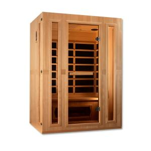 HomeDepot.com deals on Maxxus Infracolor 3-Person Upgraded Far Infrared Sauna w/Heater