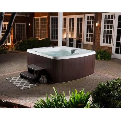 Lifesmart LS500 5-Person 23-Jet 110v Plug and Play Spa with Thermal Locking Cover