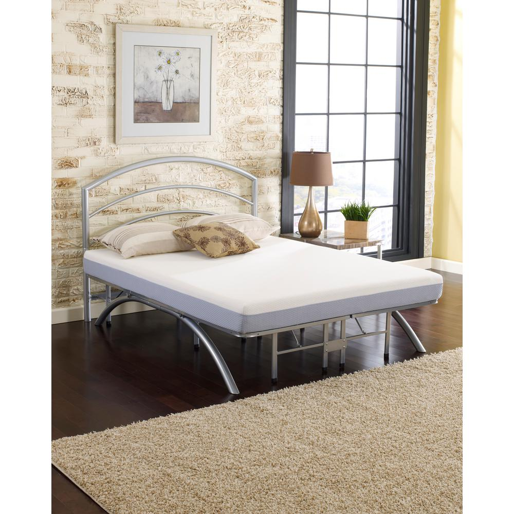 Comfort 6 in. Split King Memory Foam Mattress