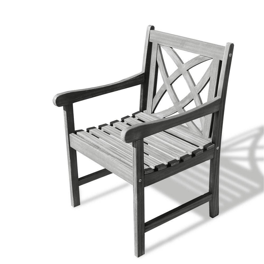 Vifah Renaissance Patio Dining Chair