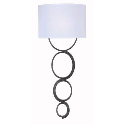 Circo 1-Light Weathered Steel Wallchiere