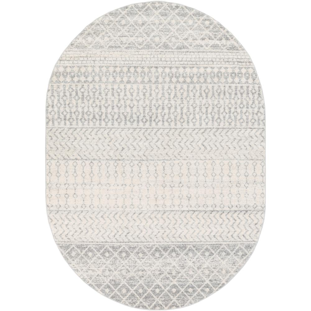 Artistic Weavers Laurine Gray 6 ft. 7 in. x 9 ft. Oval Area Rug was $345.0 now $134.46 (61.0% off)