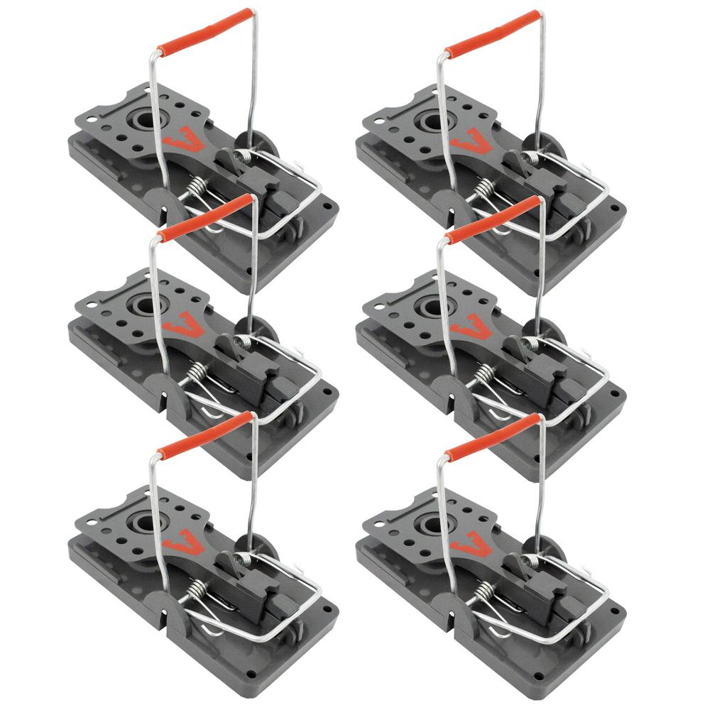 Victor Power Kill Rat Trap 6 Pack M144 Vb6 The Home Depot